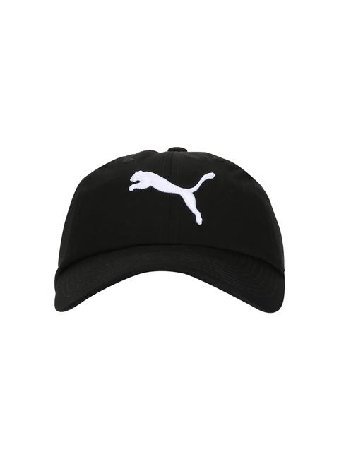 PUMA Unisex Black Embroidered Cap