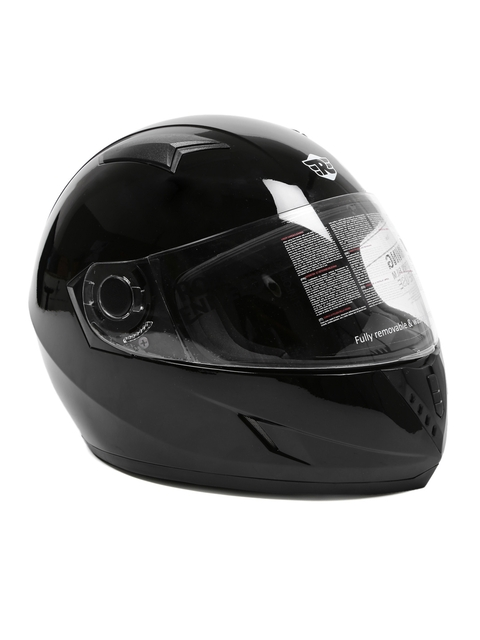 Royal Enfield Unisex Black Street Mono Full Face Helmet