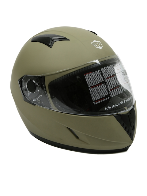 Royal Enfield Brown Big Wing Full Face Helmet