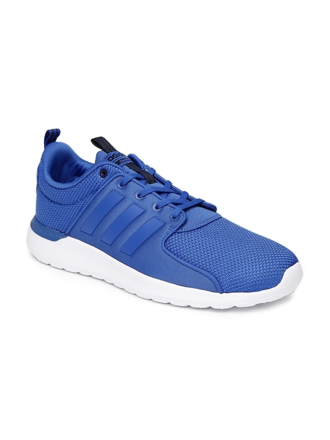 Adidas NEO Men Blue Cloudfoam Lite Racer Sneakers