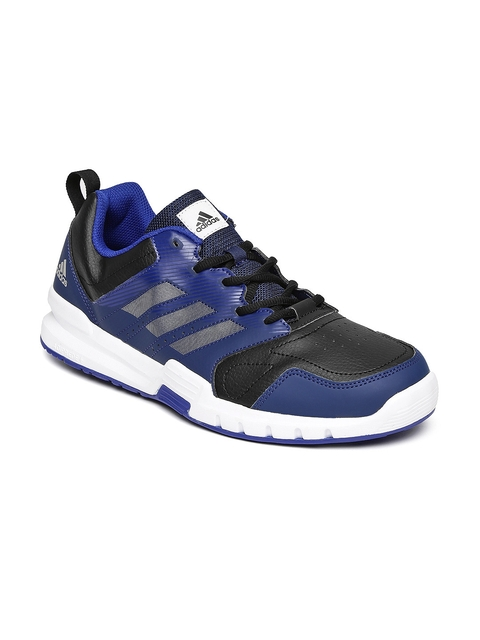Adidas Men Navy Blue Essential Star 3 M Training Shoes