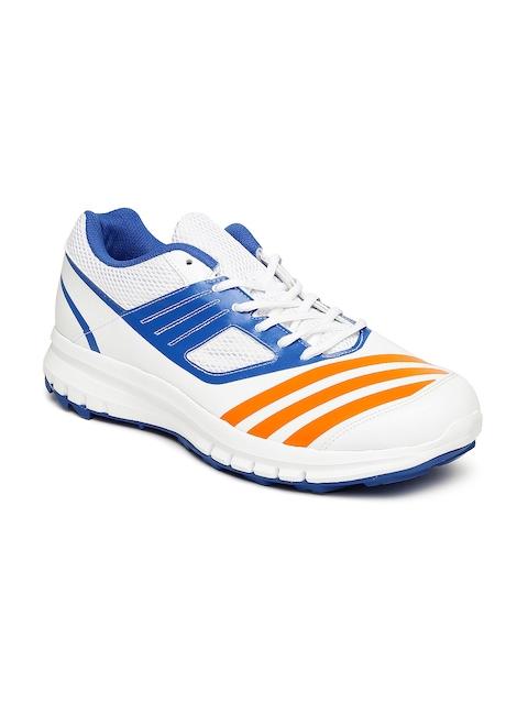 Adidas Men White Howzatt AR Cricket Shoes