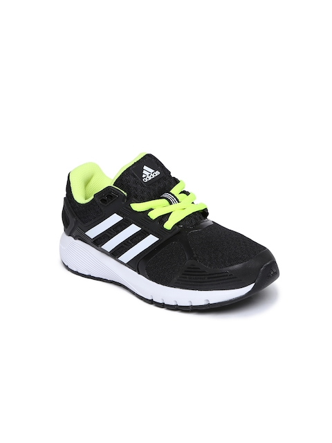 Adidas Kids Black Duramo 8 K Running Shoes  available at myntra for Rs.3289