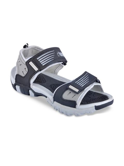 Beanz Boys Grey Melange Sandals