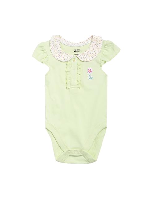 FS Mini Klub Infant Girls Green Bodysuit