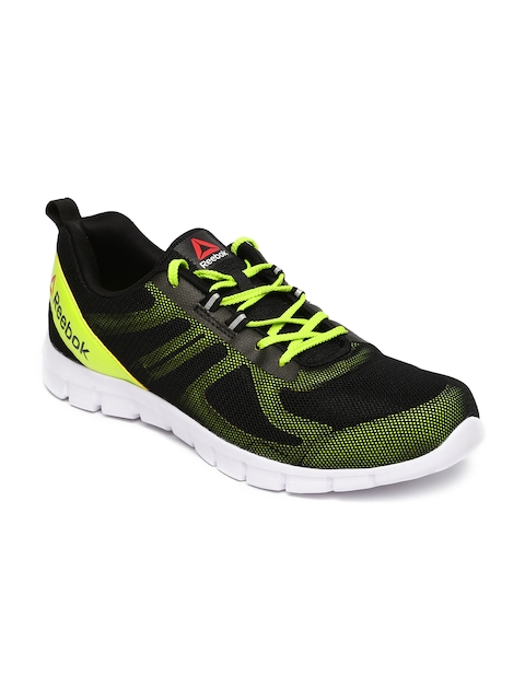 Reebok Men Black Super Lite Running Shoes
