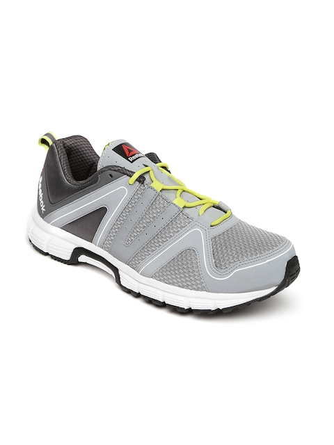 Reebok Men Grey Performance Run Running Shoes  available at myntra for Rs.1399