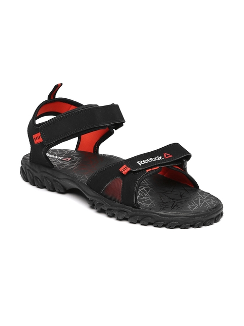 Reebok Men Black Axtrix Sports Sandals  available at myntra for Rs.999