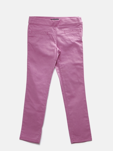 Tommy Hilfiger Girls Pink Skinny Fit Chino Trousers
