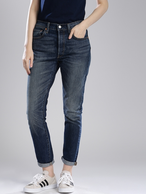 Levis Blue Skinny Fit Jeans 501