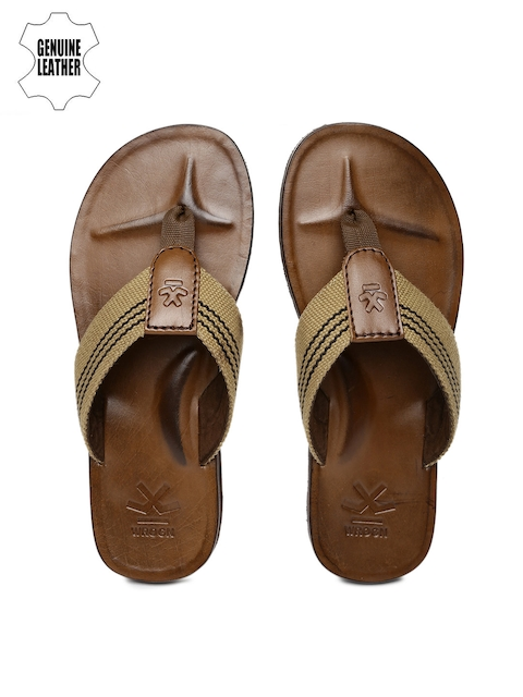 WROGN Men Khaki Sandals