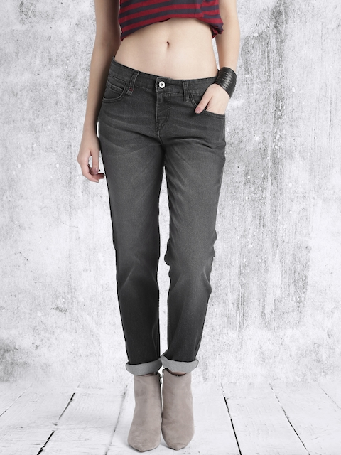 Roadster Women Black Skinny Stretchable Jeans