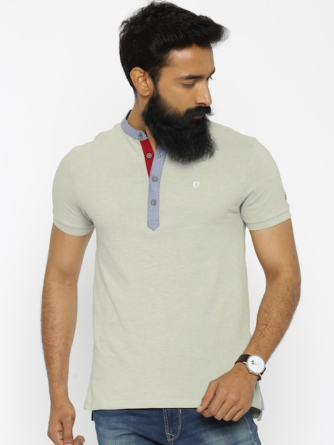 Being Human Clothing Beige T-shirt