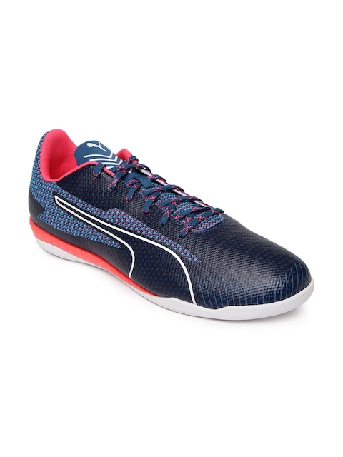 Puma Men Navy 365 Ignite CT Indoor Football Shoes