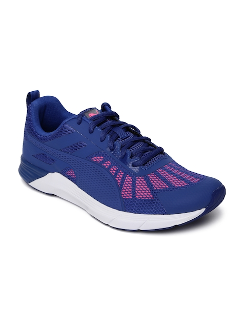 Puma Women Blue Propel Running Shoes