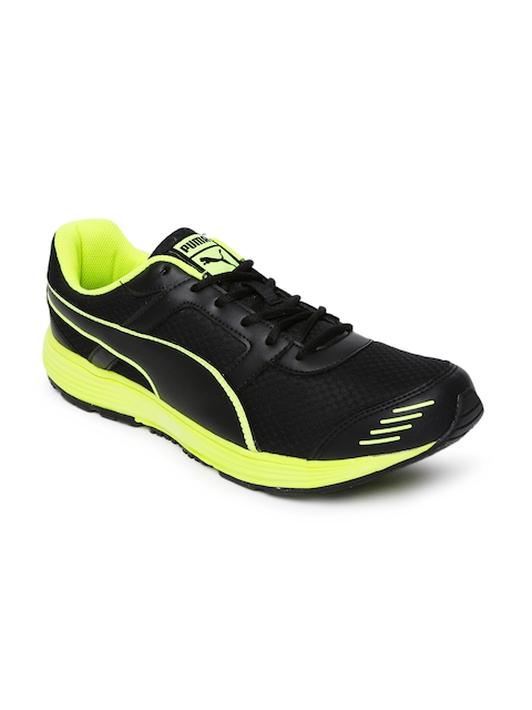 Puma Men Black Harbour Fashion Running Shoes