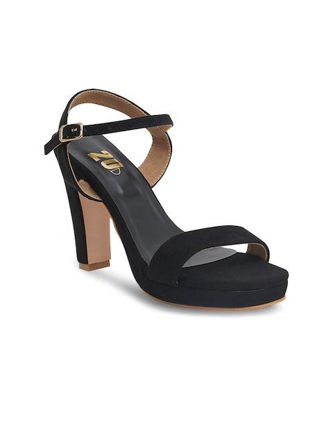 20Dresses Women Black Solid Heels