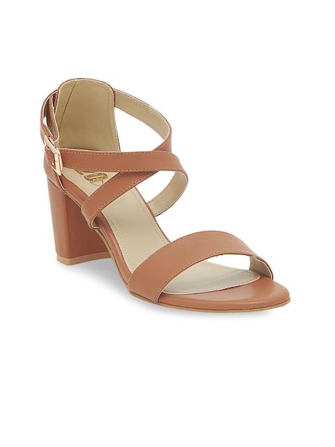 20Dresses Women Brown Solid Heels