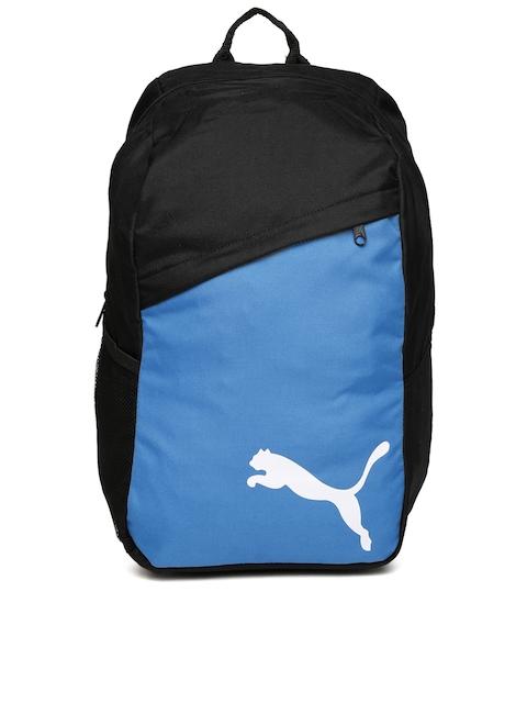 Puma Unisex Black & Blue Pro Training Backpack