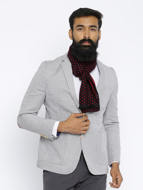The Bro Code Black & Red Scarf
