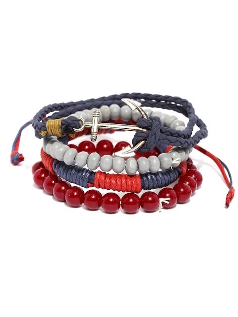 The Bro Code Men Set of 4 Bracelets