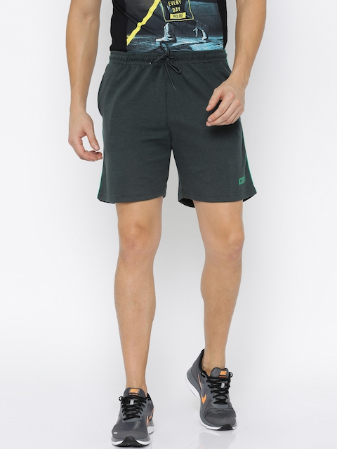 Proline Active Men Charcoal Grey Solid Sports Shorts  available at myntra for Rs.349