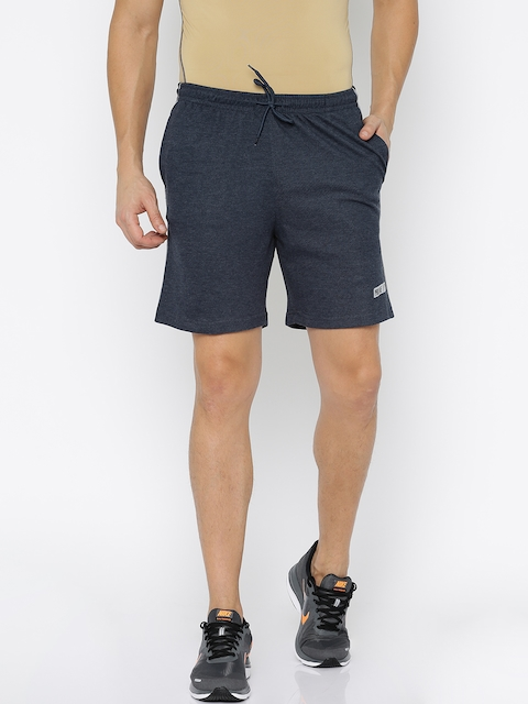 Proline Active Men Navy Blue Solid Sports Shorts  available at myntra for Rs.349