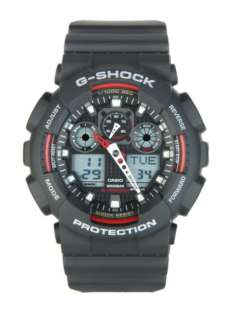 Casio Men G-shock Black Analog-Digital Watch G272