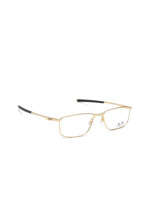 OAKLEY Men Gold-Toned Rectangular Frames 0OX321732170553