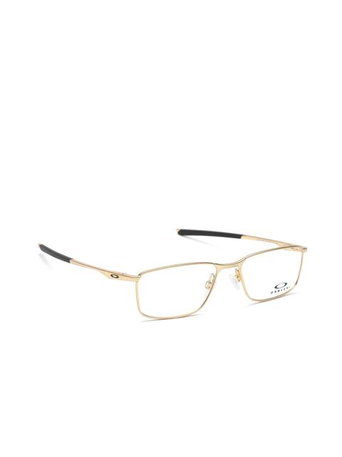 OAKLEY Men Gold-Toned Rectangular Frames 0OX321732170555