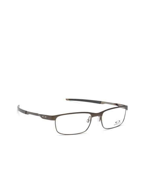 OAKLEY Men Gunmetal-Toned Rectangular Frames 0OX322232220254