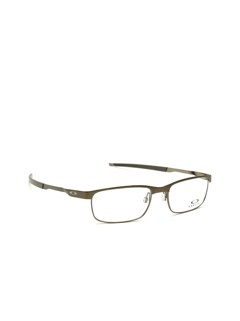 OAKLEY Men Gunmetal-Toned Rectangular Frames 0OX322232220454