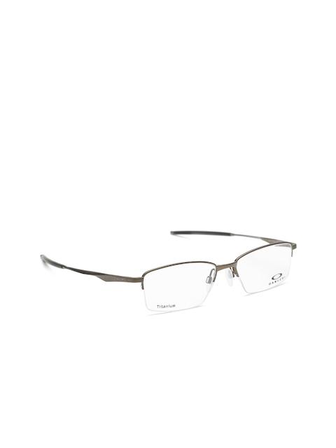 OAKLEY Men Gunmetal-Toned Half-Rim Rectangular Frames 0OX511951190254