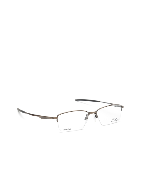 OAKLEY Men Bronze-Toned Half-Rim Rectangular Frames 0OX511951190354