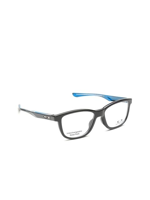 OAKLEY Unisex Black Rectangular Frames 0OX810681060252