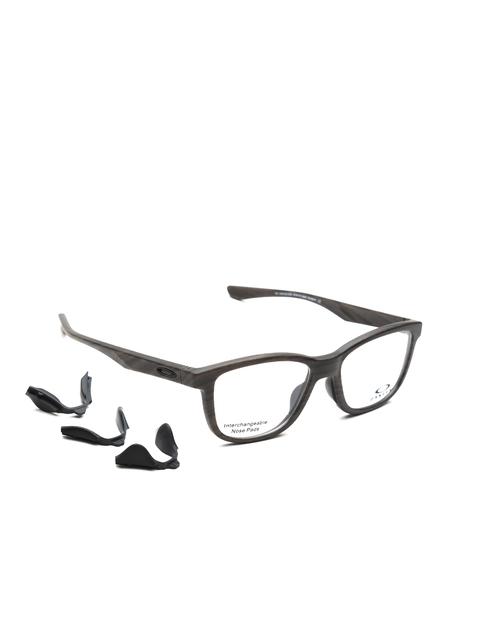 OAKLEY Unisex Grey Printed Rectangular Frames 0OX810781070351