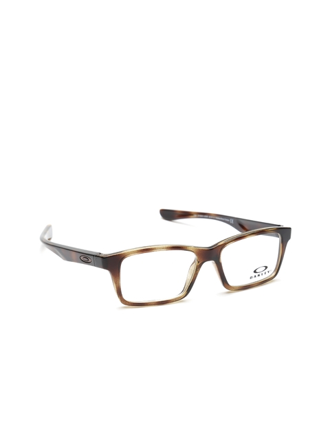 OAKLEY Men Brown Printed Rectangular Frames 0OY800180010348