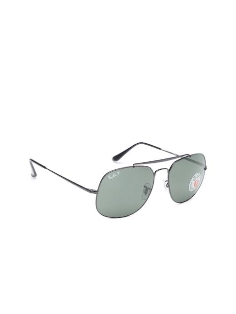 Ray-Ban Men Square Sunglasses 0RB3561002/5857