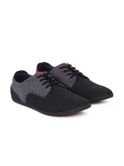 ALDO Men Black & Grey Colourblocked Bernbaum98 Sneakers