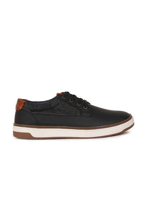 ALDO Men Black Coltodino 97 Leather Sneakers