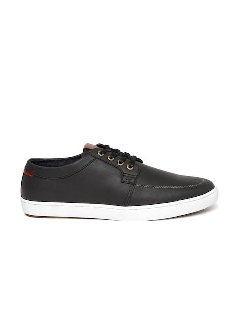 ALDO Men Black Solid Regular Sneakers