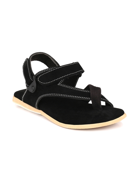 AfroJack Men Black Sandals