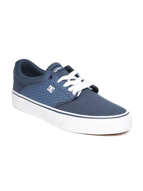 DC Women Navy Printed Sneakers
