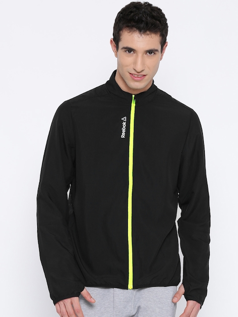 Reebok Black WVN Running Sporty Jacket