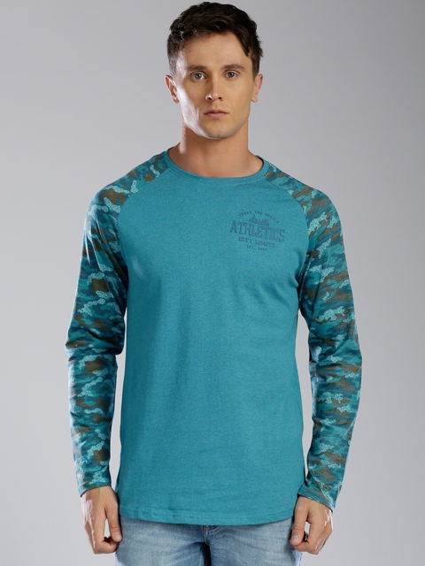 Kappa Men Blue T-shirt