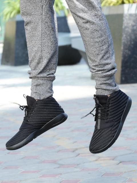 Nike Men Black Jordan Eclipse Chukka Basketball Shoes