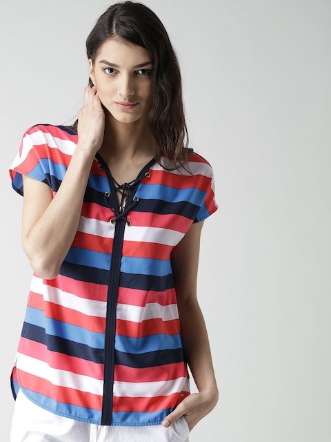 Tommy Hilfiger Women Multicoloured Striped Top