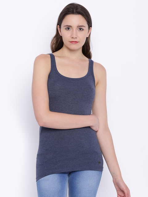 U.S. Polo Assn. Women Women Navy Blue Tank Top