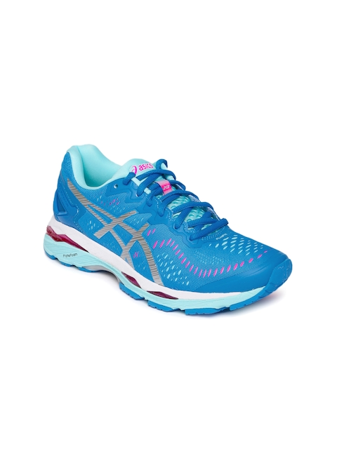 ASICS Women Blue Gel-Kayano 23 Running Shoes  available at myntra for Rs.8099