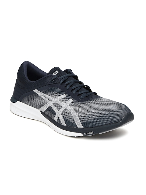 ASICS Men Navy Blue fuzeX Rush Running Shoes